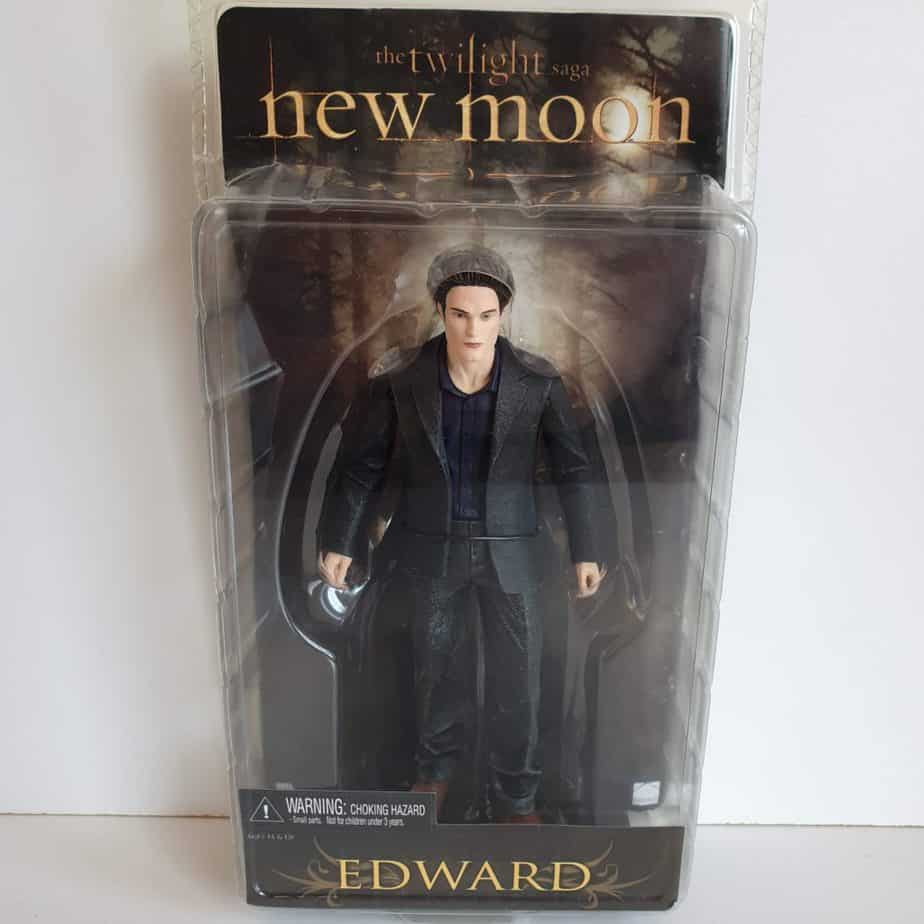 Twighlight saga new moon action figure edward