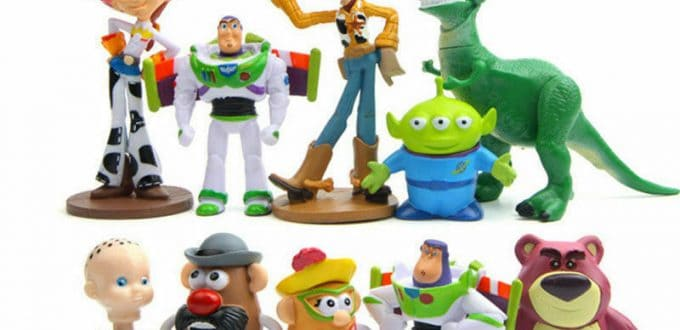10 Pieces Toy Story Figure Woody Buzz Lightyear Jessie Rex Mr Potato Head Lotso Toys