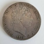 1819 George 111 Silver Crown LIX