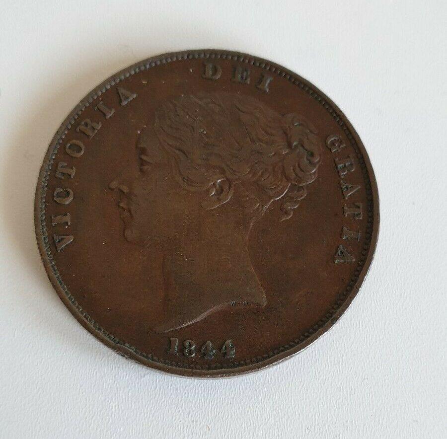 1844 queen victoria penny