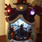 35 Awesome Ceramic Light Up Snowmen