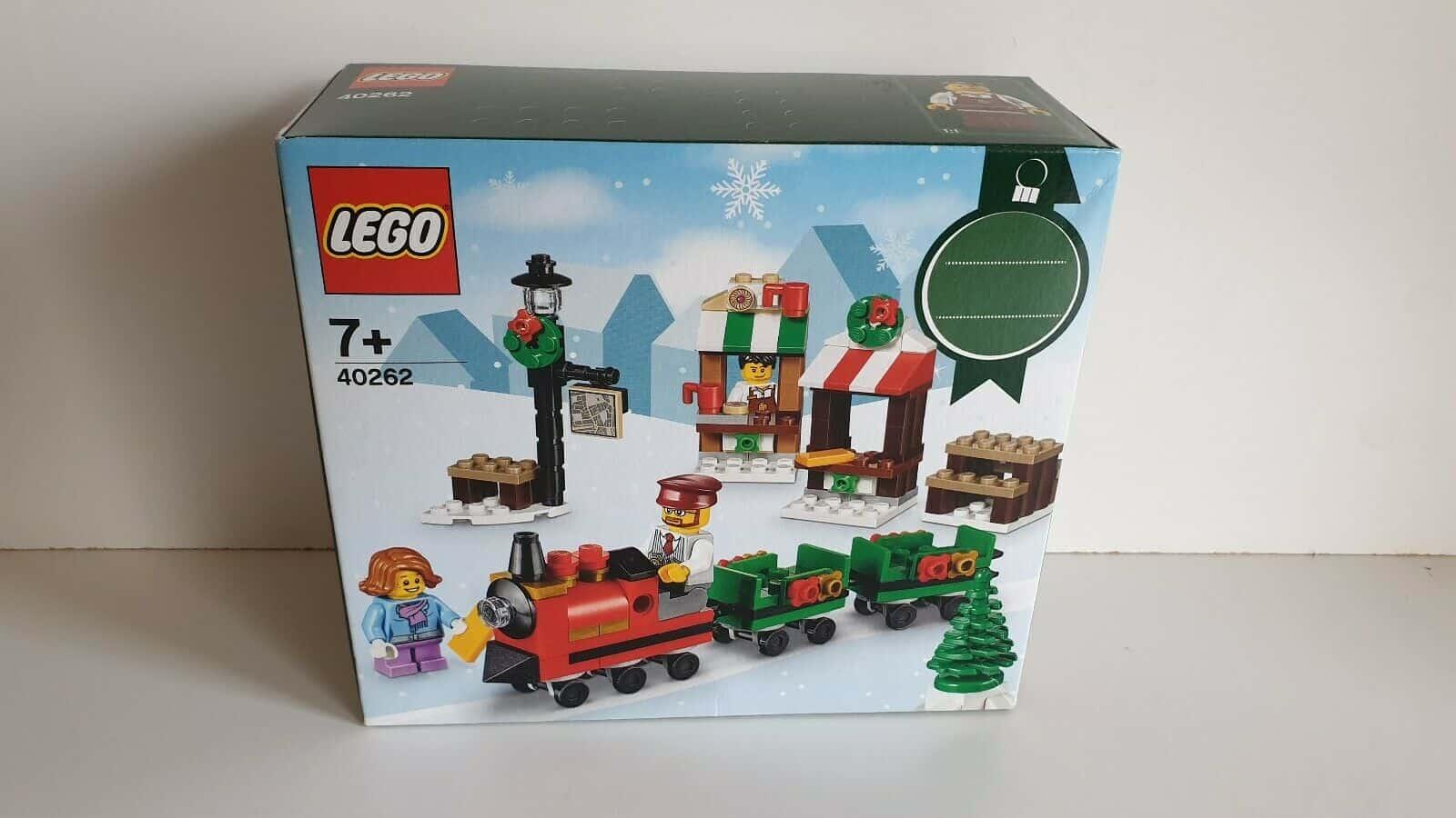 Lego xmas train 40262
