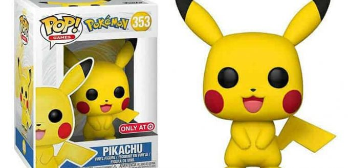 NEW-Funko-Pop-Games-353-Pokemon-Pikachu-Vinyl-Figure
