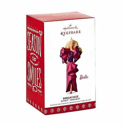 hallmark christmas barbie ornaments