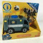 Imaginext Bane and Police Van