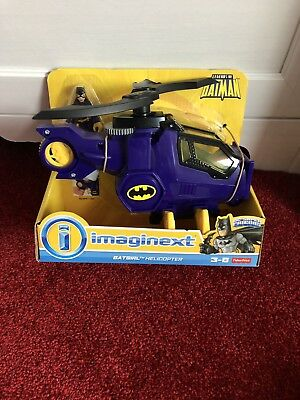 Imaginext Batgirl & Helicopter DC Super Friends BRAND NEW SUPER HEROES