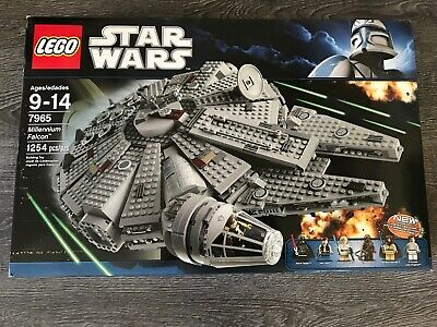 Lego Star Wars Millennium Falcon (7965) Brand New In Box Factory Sealed