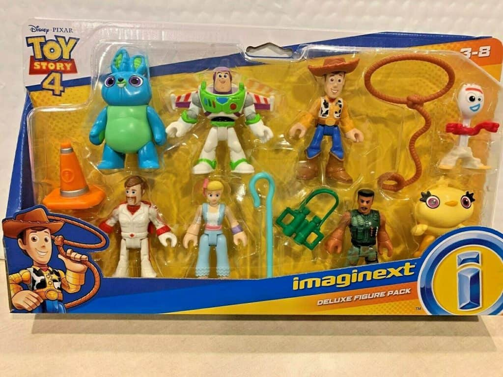 FISHER PRICE IMAGINEXT TOY STORY 4 Figures