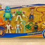 FISHER PRICE IMAGINEXT TOY STORY 4 DELUXE SET BO PEEP BUZZ DUKE CARL FORKY WOODY