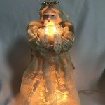 Light Up Christmas Tree Angel