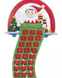 elf on the shelf advent calendar