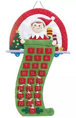 elf on the shelf advent calendar