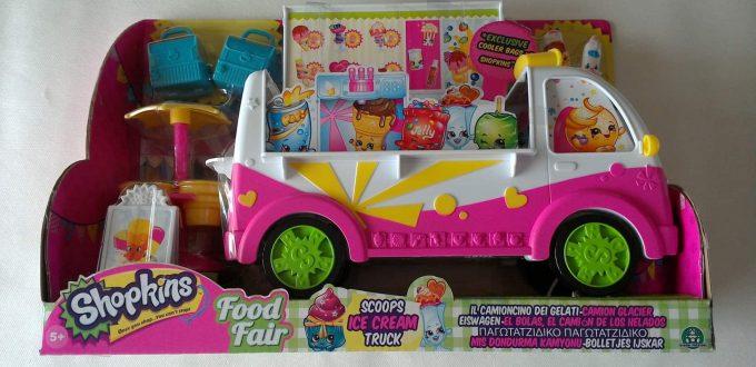 Shopkins Ice Cream Van Playset