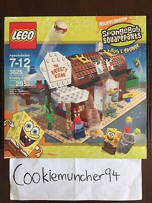 Lego Spongebob Squarepants 3825 Krusty Krab Playset With Box And Manual
