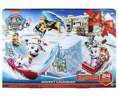paw patrol funko pop advent calendar toy