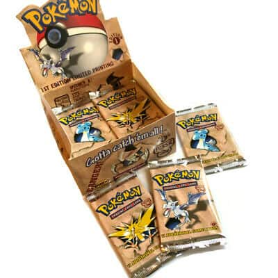 Pokemon Booster Packs 1st Edition