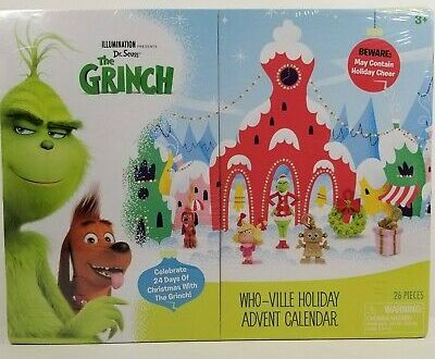 The Grinch Advent Calendar