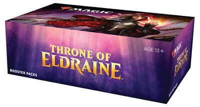 THRONE OF ELDRAINE Booster Box Magic Factory Sealed IN STOCK  FREE PRIORITY SHIP