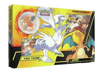 Pokemon TCG Reshiram & Charizard GX Figure Collection Box New/Sealed