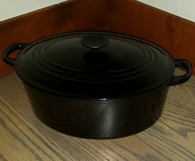 Vintage Le Creuset Oval French Oven