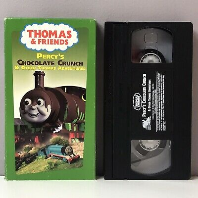 Thomas The Tank Engine Friends Percy's Chocolate Crunch VHS Video Tape VTG Train