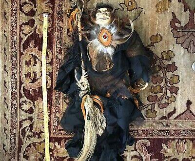 vintage halloween dolls