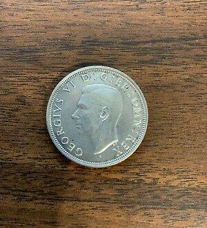 British Silver Half Crown