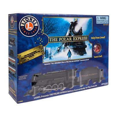 Lionel Train Set Christmas