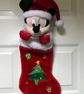 Disney Plush Christmas Stockings