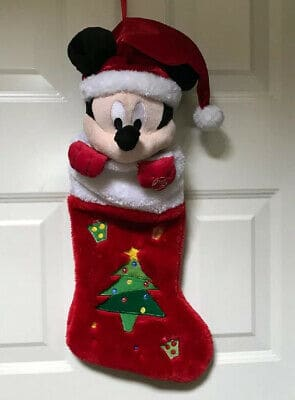 Disney Plush Christmas Stockings