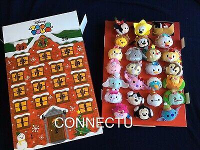 Disney TSUM TSUM Advent calendar Box set of 25 Plush toy Doll Japan 2016 Limited