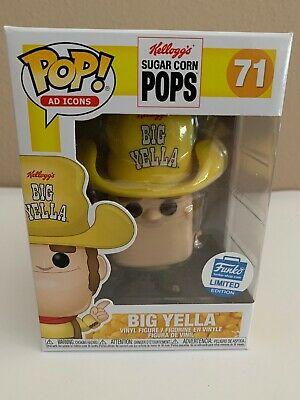 Funko POP! Big Yella Ad Icons Funko Shop Exclusive #71 In FREE PROTECTOR !