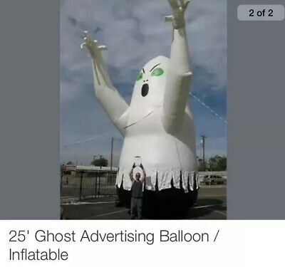 Giant Inflatable Ghost Balloon 25'