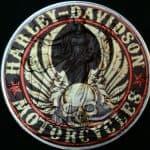 Silver Eagle Harley