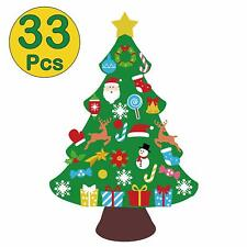 jollylife 3ft DIY Felt Christmas Tree Set - Xmas Decorations Wall Hanging