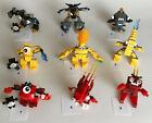 Lego Mixels Series 1 Flain/Vulk/Zorch/Seismo/Shuff/Krader/Volectro/Zaptor/Teslo