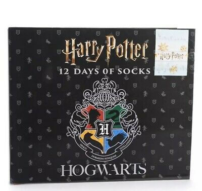 Hogwarts Socks Advent Calendar
