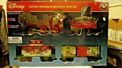Lionel Mickey Mouse Train Set