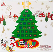 """new 2019 Mickey Mouse Friends Plush Advent Calendar Wall Hanging disneystore 33"""""""