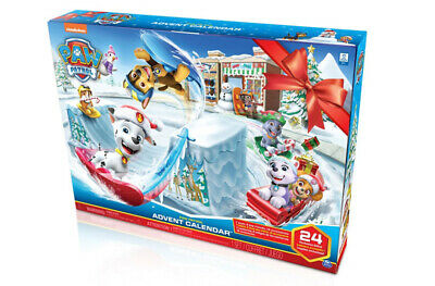 NEW 2019 PAW PATROL Advent Calendar 24 days of Surprises FREE SHIP