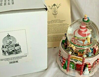 Disney Snow Globe Christmas Train