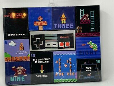 Nintendo 12 Days of Socks Christmas Collectible Gift Box