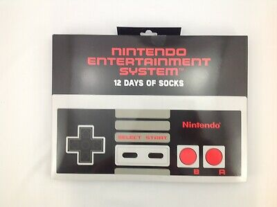 Nintendo Entertainment System 12 Days of Socks