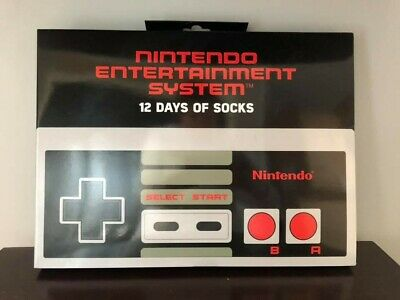 Nintendo Entertainment System™ 12 Days of Socks Advent Calendar 10-13 *NEW* HTF
