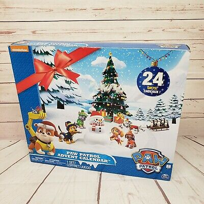 Paw Patrol 2017 Advent Calendar Christmas 24 Gifts Figures Kids Toys