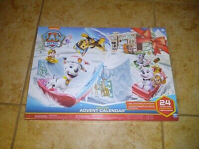 Paw Patrol Collectible Figures 2019 Christmas Avent Calendar NEW FREE SHIPPING
