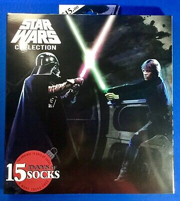 Mens Star Wars Socks Advent Calendar