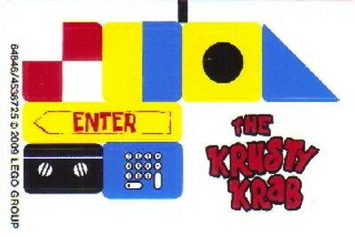 STICKERS Lego Spongebob 3833 The Krusty Krab Stickers Only NEW Original OOP