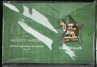 2003 Disney Advent Calendar Pin MICKEY MOUSE Christmas Day 25 LE 1500