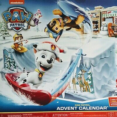 2019 Paw Patrol Advent Calendar w/ 24 Collectible Figurines